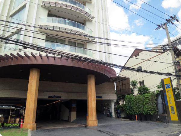 バンコクのスーパーホテル