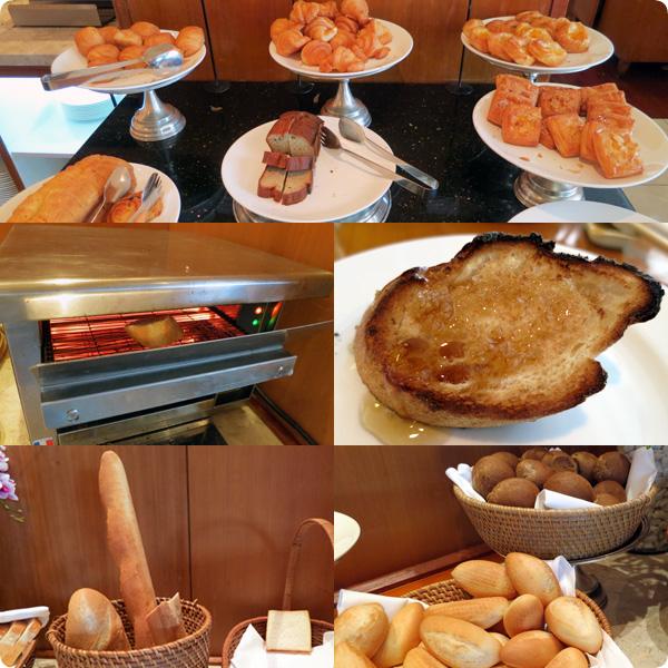 ニッコーハノイの朝食パン