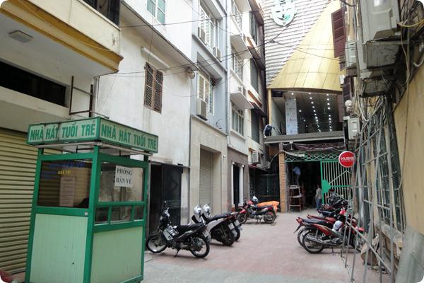 ベトナムの風に吹かれてカフェ