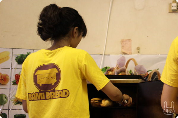 Bami Breadの店員さん