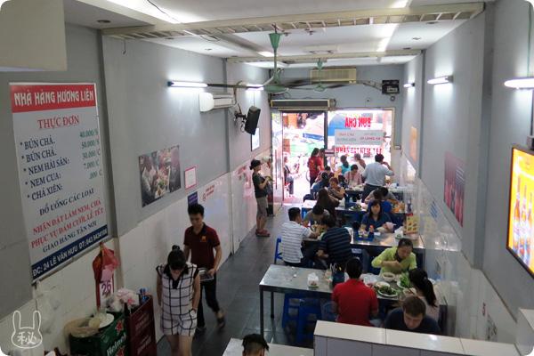 HUONG LIENの店内
