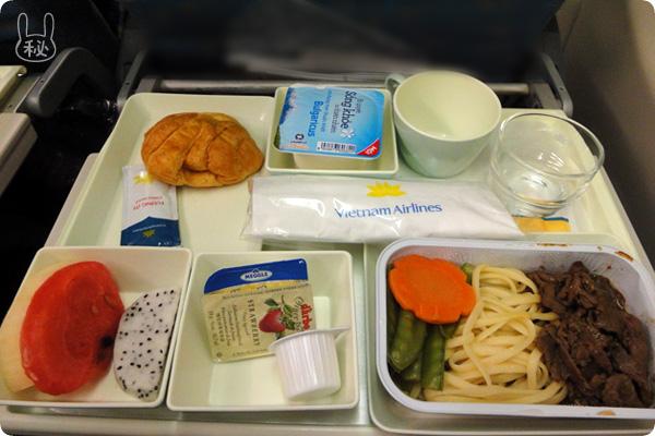 ベトナム航空機内食(洋食の朝食)