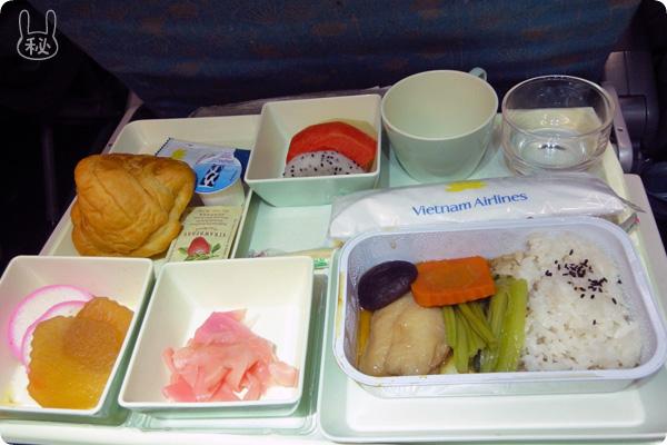 ベトナム航空の和食朝食