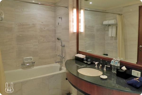 ホテルニッコーハノイの風呂